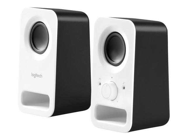 da1f218401c Logitech Z150 - Speakers - white